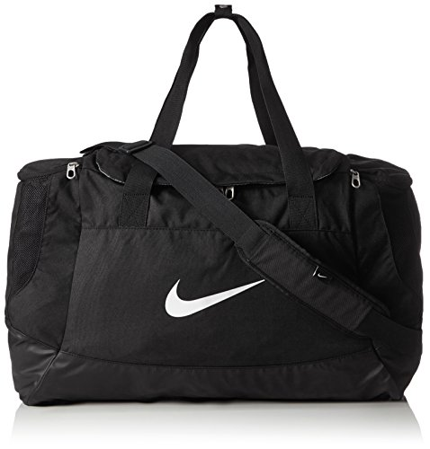 Nike Unisex Sporttasche Club Team Swoosh, black/white, 53 x 37 x 27 cm, 52 Liter, BA5193-010 Frauen Training Bag