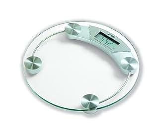 DOMO - Pèse-personne électronique 150kg - Plateau verre