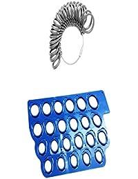 Blue Gray US 3-13 Ring Measuring Template Finger Sizer Gauge Ring Sizer Tool