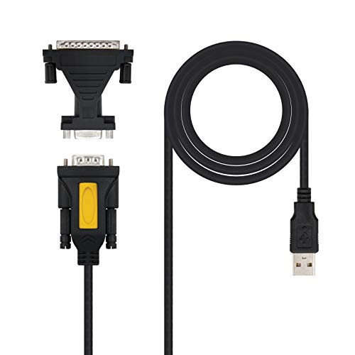 NANOCABLE 10.03.0002 - Conversor USB Serie Impresora