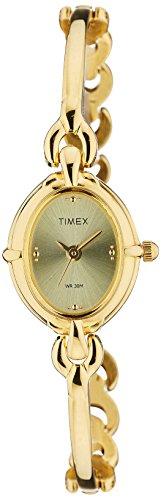 Timex Classics Analog Gold Dial Women\'s Watch - LK02