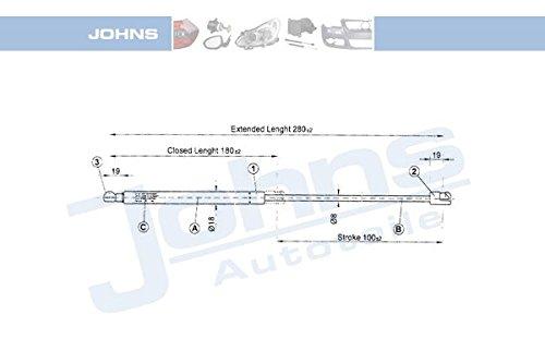 JOHNS gaz pour appareils portatifs/cale, 95-91 08 13