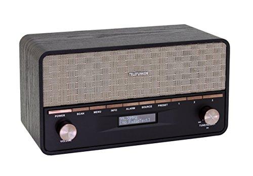 Telefunken RD1004 Bluetooth Digitalradio schwarz
