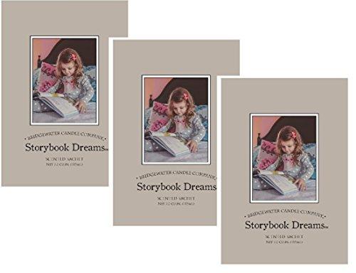 3Stück große Duftsäckchen Storybook Dreams -