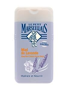 Le Petit Marseillais Douche Crème Extra Doux Miel de Lavande 250 ml Lot de 3