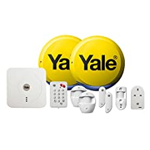 Yale SR-340 Smart Living Home Alarm, View & Control Kit Part Arming Function, App, Remote Viewing and Control, White, One size