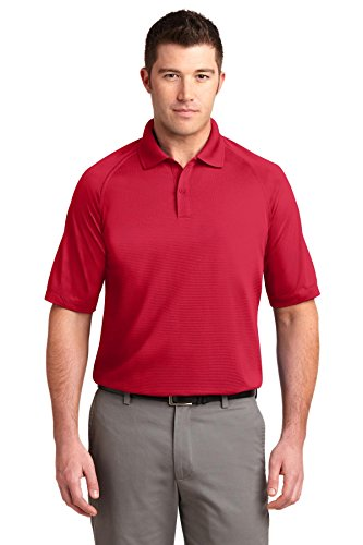 Port Authority Dry Zone; Ottomane Sport Shirt K525 Rot - Engine Red