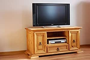 meuble tv el paso bois pin massif moebel meuble tv moebel meuble tv cuisine maison. Black Bedroom Furniture Sets. Home Design Ideas