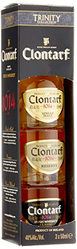 Clontarf Irish Whisky Mini Trinity (3 x 0,50 ml)
