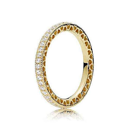 Pandora Shine Damenring Hearts of Pandora Ringgröße 58/18,5 167076CZ-58