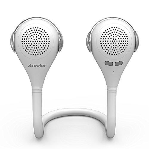 Arealer-Gemini-Altoparlante-Bluetooth-30-con-microfono-Speaker-Stereo-3W-Senza-Fili-Portatile-Indoor-Outdoor-per-liPhone-6S-iPad-Samsung-S7-Nota-5-altri-Dispositivi-Abilitati-Bluetooth-bianco