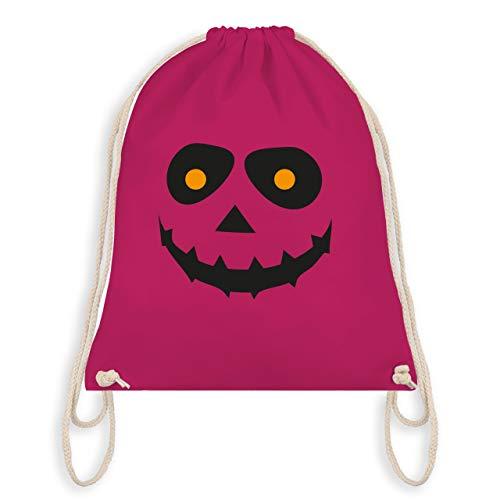 (Halloween - Gruseliges Gesicht Fasching - Unisize - Fuchsia - WM110 - Turnbeutel & Gym Bag)