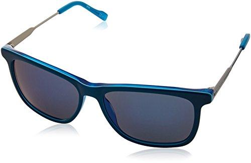 BOSS Orange Herren BO 0229/S 23 LHG Sonnenbrille, Türkis (Teal Turquoise Palladium/Blue Sparkling), 55