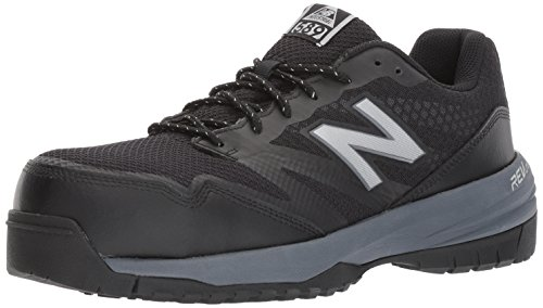 New Balance Mens 589V1 Work Training Shoe Black/Grey