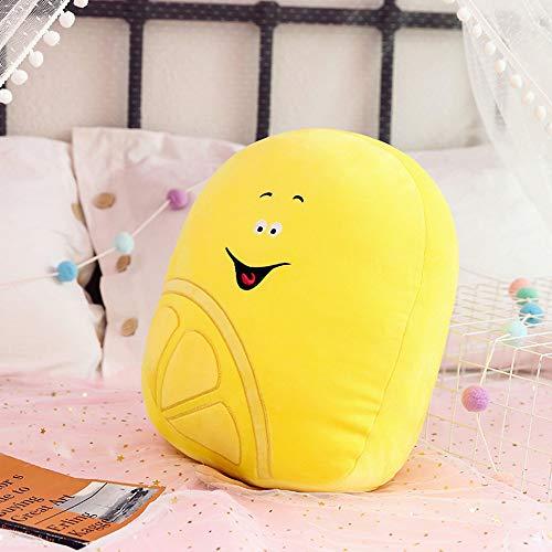 Kaliya Fruit Pillow Peluche de Juguete Lindo Helado Creativo Suave Almohada Muñeca para Regalos Limón