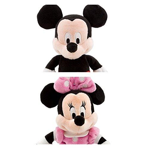Disney MICKEY MOUSE e MINNIE Peluche Pequeño Set 20cm La Casa de Mickey Mouse