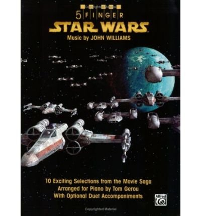 [(5 Finger Star Wars: 10 Exciting Selections from the Movie Saga Arranged for Piano with Optional Duet Accompaniments )] [Author: John Williams] [Nov-2008] par John Williams