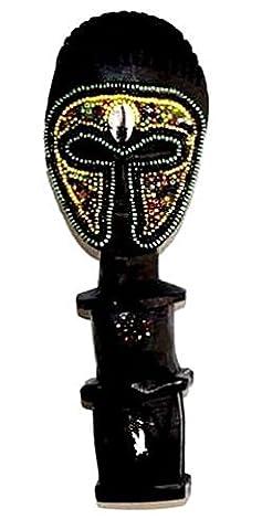 AFRIQUE ART DECORATION -Poupée ashanti avec perles 3103-AX-105