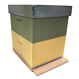 AYUMA Beehive Complete Langstroth without Wax AYUMA Beehive Complete Langstroth without Wax 411sF1XuPYL
