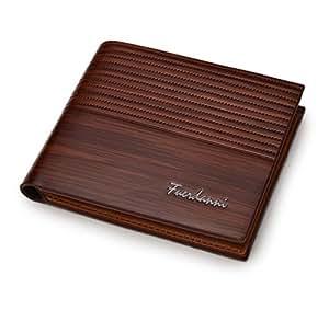 Men's Genuine leather wallet FUERDANNI by DSANTECH Modal no-STWLTX10 BROWN