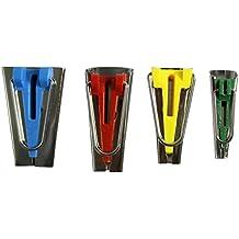 Set de 4 herramientas para crear cinta bies de 6, 12, 18 y 25 mm por Curtzy TM