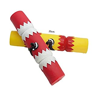 2 pck large 25 cm merry christmas cracker squeaky vinyl dog puppy play toy xmas gift stocking filler db230 2 PCK LARGE 25 CM MERRY CHRISTMAS CRACKER SQUEAKY VINYL DOG PUPPY PLAY TOY XMAS GIFT STOCKING FILLER DB230 411sHEO7mWL