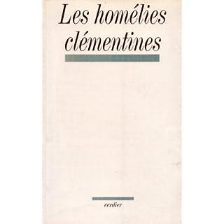 Les homélies clémentines