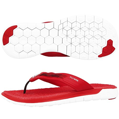 Nike Zehensandale Free Thong Herren university red-white-black, 42,5 -
