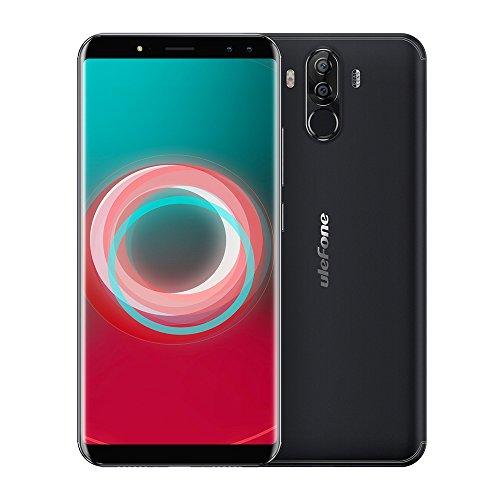 Ulefone Power 3S Smartphone Android 7.1 ID viso Telefono Cellulare 4G FDD-LTE 4 Telecamere 16 + 5MP e 13 + 5MP 18: 9 6.0 pollici Lunetta-less Octa Core 4 GB + 64 GB 6350mAh