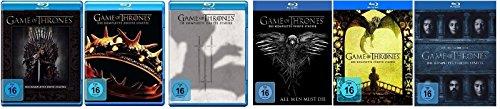 Blu-ray Set * Game of Thrones - Season / Staffel 1+2+3+4+5+6