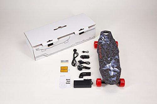 benchwheel Penny Junta inalámbrico single-motor Disco sino-wave controlado Longboard