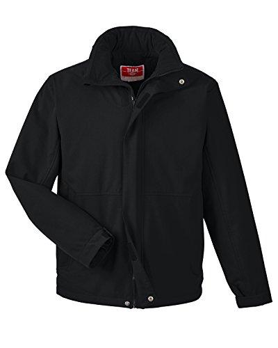 Équipe 365Couche isolée Veste imperméable Soft Shell Veste pour homme Noir - Noir