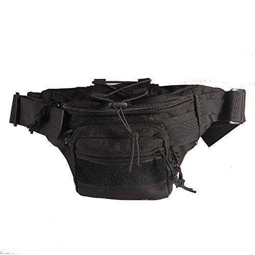Imagen de yakeda® bolsillos al aire libre los hombres y mujeres de ocio multifuncional bolsillos tácticos impermeable bolsillos deportivos  ciclismo paquete pecho bolsa de hombro al aire libre militar  8l  b88026