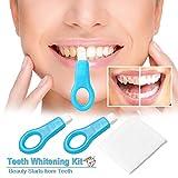Neue Ankünfte Oral Reinigung Nano Bleaching Pinsel Zahnbürste Reinigung Kit Zähne Reinigung Strips für Gelb und Schwarz Zähne