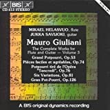 V 3: Complete Works for Flute & Guitar by Mauro Giuliani