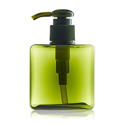 Shampoo Shower Gel Empty Bottle, Molie Emulsion Dispensing Bottle Pump Action 250ml