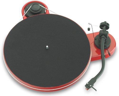 Pro-ject Rpm 1.3 Genie - Tocadiscos (pastilla Ortofon 2M Red), color rojo