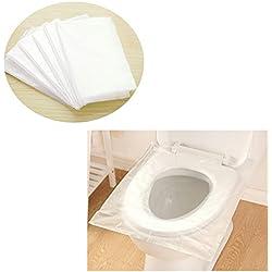 Protector de inodoro para embarazadas 100% biodegradable.
