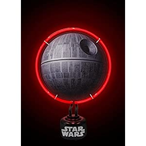 Official Licensed Star Wars Death Star Neon Light Bedroom Night Lamp Gift