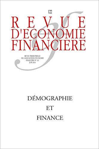 Démographie et finance - N°22 Juin 2016