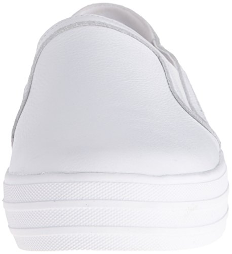 Skechers Double Up-Shiny Dancer, Baskets Enfiler Femme White/Silver
