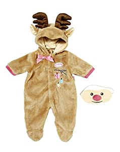 Baby Annabell 701157 Deluxe Set Reindeer Dolls Clothing