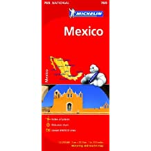 Mexico NATIONAL Map (Michelin National Maps) by Michelin (2012-02-04)