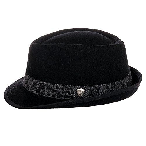 Dorfman Pacific Men s Wool Blend Fedora Hat with Herringbone Band - Buy  Online in Oman.  20dbb5507f56