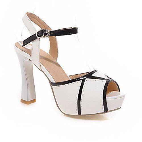 Adee , Damen Sandalen Weiß