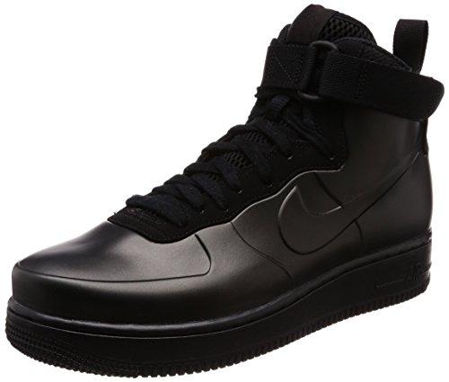 Nike air force 1 foamposite cup, scarpe da fitness uomo, nero (black 001), 45 eu