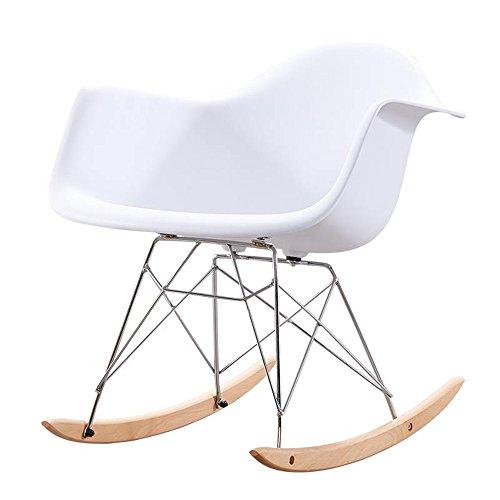 QFFL Mecedora Adult Lunch Break Chair Sala de Estar Interior Single Le