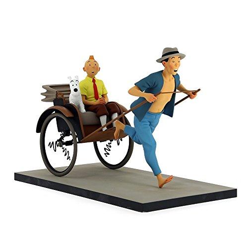 Figura Moulinsart Fariboles Tintín y Milú en el Rickshaw 44021 (2017)