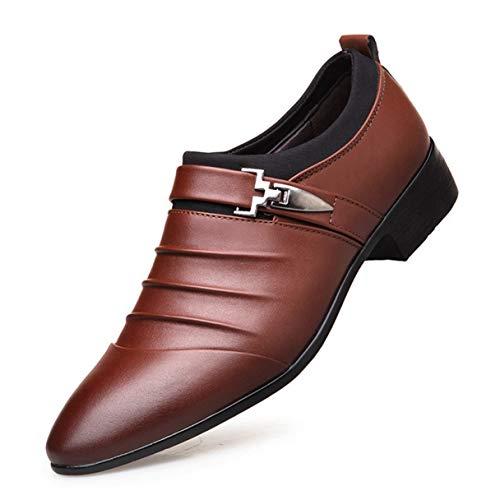 Herren Freizeitschuhe Schwarz Braun Fashion Business Oxford Schuhe Gore Moc