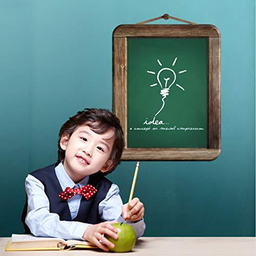 Green Board Wandaufkleber Für Kinder Zimmer Kinderzimmer Büro Vinyl Aufkleber Kinder Wandmalereien Kreide 3D Kunst Wohnkultur ()